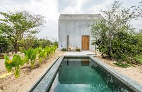 rental of the week a concrete cabin in oaxaca mexico