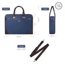 sacoche bureau plemo sac de bureau porte documents pochette attaché avec