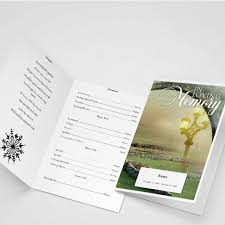 comforter funeral program word template obituary programs