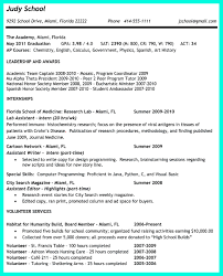 Example College Application Resume by How To Write A High Resume For College High Resumes