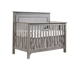 nest juvenile emerson u201c5 in 1 u2033 convertible crib with upholstered