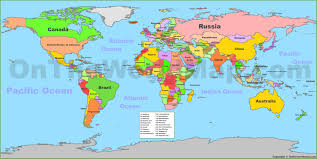 Blank Printable World Map With Countries by World Maps Maps Of All Countries Cities And Regions Of The World