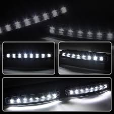 2004 toyota camry lights 09 toyota camry led drl projector headlights smoked
