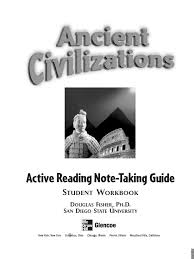 ancient civilizations active reading and note taking guide g6