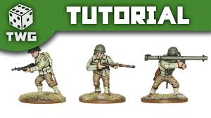 bolt action tutorial how to paint us infantry youtube
