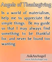 of thanksgiving www askanangel org