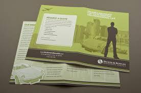 green insurance agency brochure template inkd