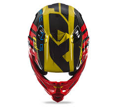 yellow motocross helmet motocross helmet fly racing f2 red black yellow mx power eu