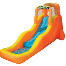 Water Slide Backyard by Slip N Slide Wave Rider With Boogie Walmart Com