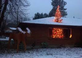 a grand christmas tree through the roof illusion spoiler alert