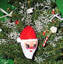 wholesale seashell santa christmas ornaments