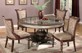 Solid Oak Pedestal Dining Table Table Charm Glass Round Dining Table On Solid Oak Pedestal