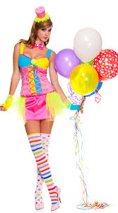 Ladies Clown Halloween Costumes Clowning Clown Costume Clown Halloween Costume
