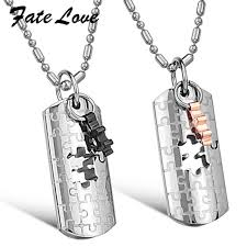 custom dog tag necklace stainless steel pendant necklace the great wall pendant necklace