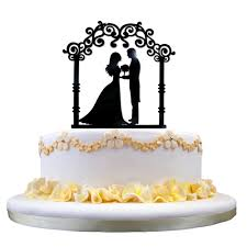 aliexpress com buy 16cm cake topper party supply decor bride and