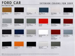 taurus colors paint code question the mustang source ford mustang forums