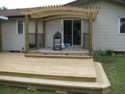 Cantilevered Deck by Deck 7 P E T Custom Carpentry