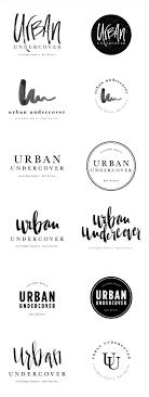 brand logo design brand launch undercover salted ink design co logo