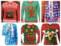 ugly christmas sweater card christmas lights decoration