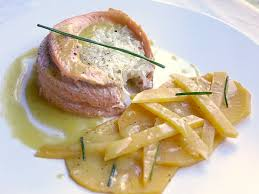 navet cuisine alsace trucha con nabo trout with turnip truite