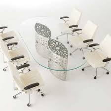 modern office conference table modern office rhetoric what your conference room says about you
