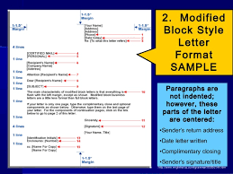 Document 2 Block Style Business Letter Practice Letterwriting Ppt
