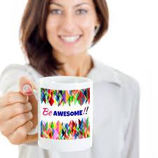 novelty coffee mugs be awesome novelty coffee mug u2013 mugszy