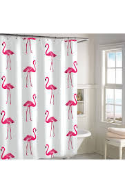 destinations pink flamingo shower curtain nordstrom
