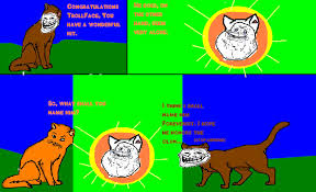 Meme Comic Strip - warriors cats comic strip with meme faces by night knuckles on