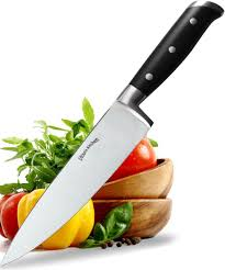 amazon com utopia kitchen stainless steel chef knife 8 inches