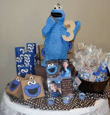 cookie monster baby shower cookie monster birthday party ideas photo 4 of 29 catch my party