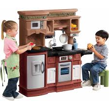 Pretend Kitchen Furniture Little Tikes Cook U0027n Learn Smart Kitchen With 40 Piece Accessory