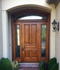 Exterior Wood Doors With Glass Panels by Exterior Design Stunning Lite Entry Door Collection Sipfon Home