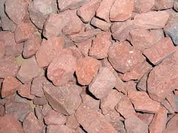 Red Landscape Rock by Red Brick Chips