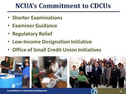 Credit Union Examiner Forum Committed To Community Development Presentation To National