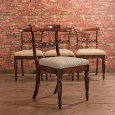 Antique Regency Dining Chairs Set Of 4 Antique Dining Chairs Oak U0026 Elm English Country