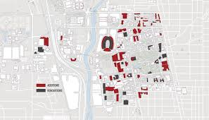 Ohio State University Map by Integrating Resilience Into University Campus Planning Page