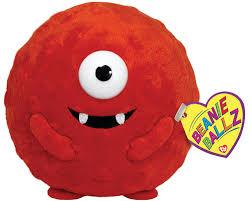 Yo Gabba Gabba Images by Amazon Com Ty Beanie Ballz Muno Yo Gabba Gabba Plush Toys U0026 Games