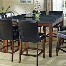 granite top round pub table granite bello round granite top counter height table morris home