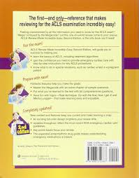 acls review made incredibly easy lippincott 9781608312887