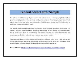 federal government cover letter government resume exampleshow to
