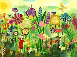 great mural idea for a kid s garden play area i can hardly wait Garden Mural Ideas