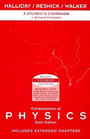 fundamentals of physics student companion 6 e 6th edition buy