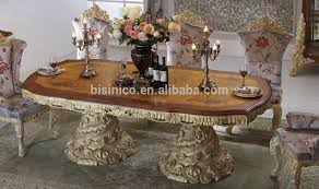 Dining Table Sets Baroque Antique Style Italian Dining Table 100 Solid Wood Italy