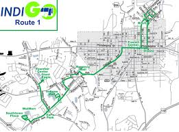 Maps Route by Route 1 Route Map Indigobus Com