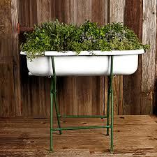 Bathtub Planter Pretty Planters Apples U0026 Onions