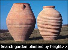 tall outdoor large garden pots and planters