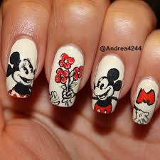 145 best nails images on pinterest disney nails art mice and