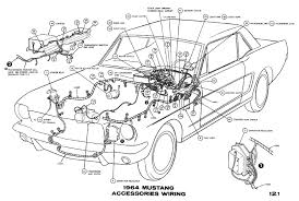 65 mustang accessories 1964 mustang wiring diagrams average joe restoration