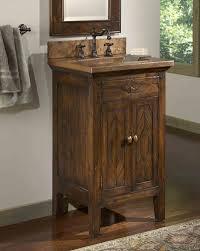 Built In Bathroom Vanity Marvelous Rustic Vanities For Bathroom Using Countertop With Built